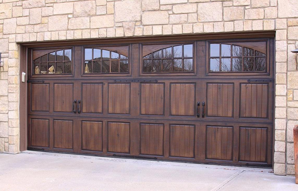 How To Paint A Garage Door With Gel Stain Cheap And Easy Diy To Increase Curb Appeal
