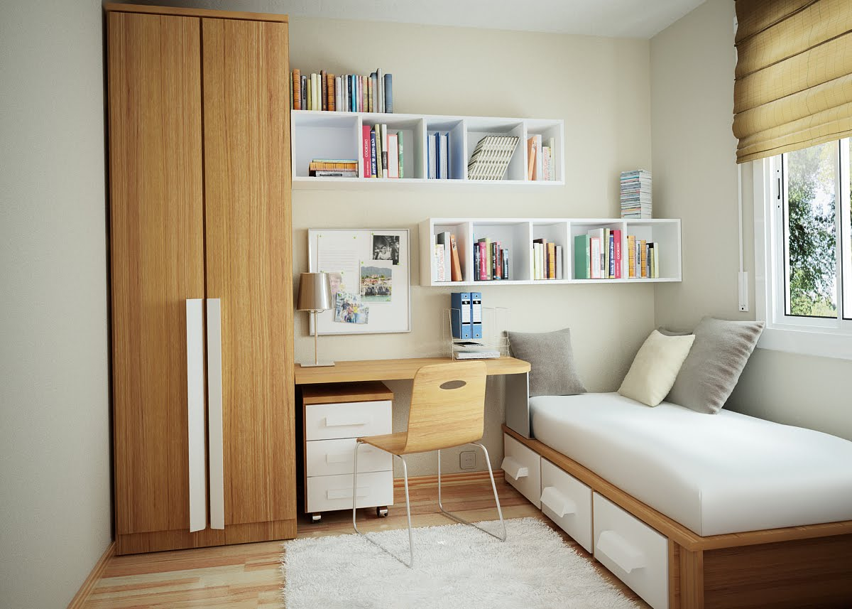 Tiny Room Design Entrancing How To Style A Small Bedroom  Small Bedroom Design Inspiration